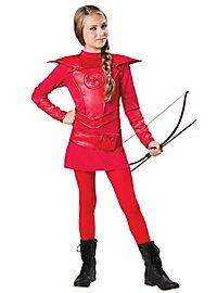 Bogenschützin Kostüm für Kinder