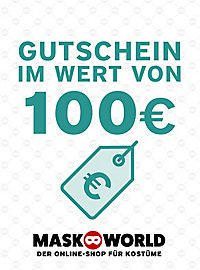 Bon d'achat cadeau maskworld.com de 100 €