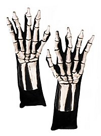 Bone hands white