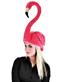 Bonnet flamant rose