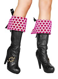 Boot Covers embroidered