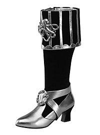 Bottes de flibustière femme luxe noires