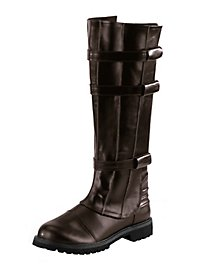 Bottes de guerrier de science-fiction marron