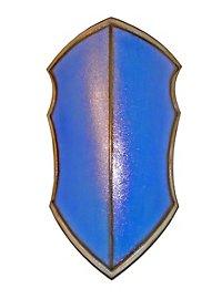 Bouclier de chevalier bleu
