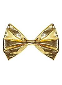 bow tie gold metallic