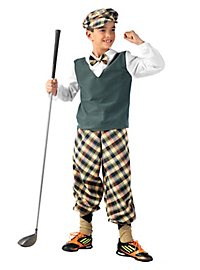 Boy Golfer Kids Costume
