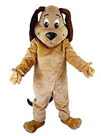 Brauner Hund Maskottchen