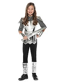 Brave Knight Woman Child Costume