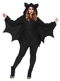 Brisk Bat Plus Size Hoodie Dress