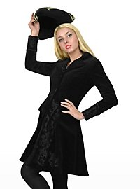 Brocade Coat black Costume