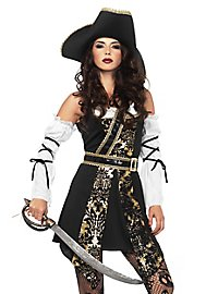Brocade pirate costume