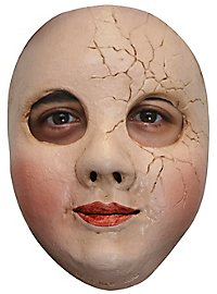 Broken doll half mask