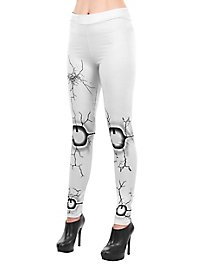 Broken doll leggings