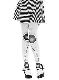 Broken doll tights