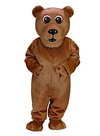 Brown Bear Mascot
