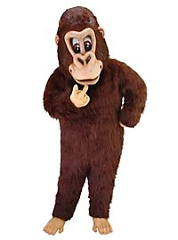 Brown Gorilla Mascot