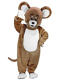 Brown Mouse Mascot