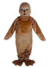 Brown Seal Mascot