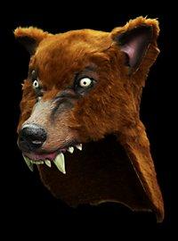 Brown Wolf Helmet