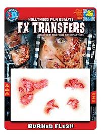 Brûlures 3D FX Transfers
