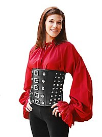 Buccaneer Ladies Leather Corset