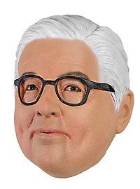 Bundespräsident Steinmeier Politikermaske