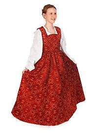 Burgfräulein Kinderkostüm