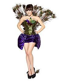 Burlesque Peacock Girl Costume