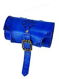 Sac cylindre de guerrier celte bleu