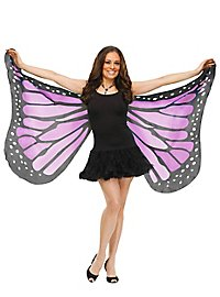 Butterfly wing cloth purple