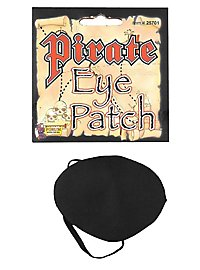 Cache-œil de pirate en satin