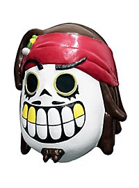 Calavera Pirat Maske