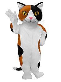 Calico Cat Mascot
