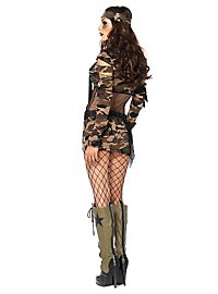 Camouflage Girl Kostüm