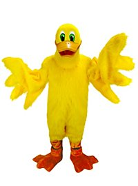 Canard joyeux Mascotte