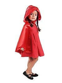 Cape de Petit Chaperon rouge pour enfant