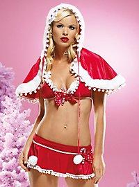 Cape sexy de mère Noël