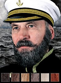 Capitaine Composition de barbe professionnelle en poils véritables