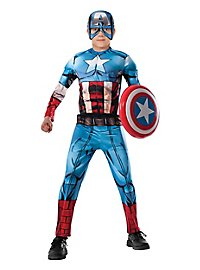 Captain America Comic Child Costume