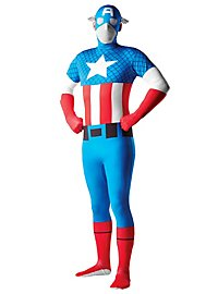 Captain America Full Body Suit