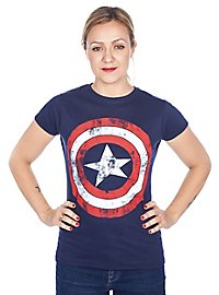 Captain America Girlie Shirt Schild