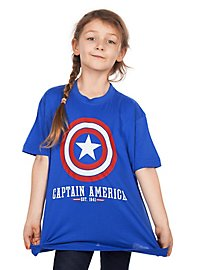 Captain America Kinder T-Shirt Logo