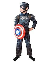 Captain America mit Schild Kinderkostüm
