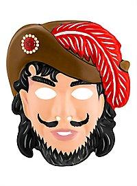 Captain Hook Kindermaske aus Kunststoff
