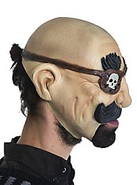 Captain Kahlkopf kinnlose Maske