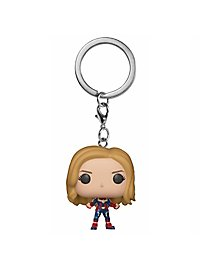 Captain Marvel - Captain Marvel Pocket POP! Bobble-Head Schlüsselanhänger
