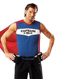 Captain Six Pack Karnevalskostüm
