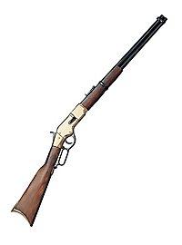 Carabine «Winchester» en laiton Arme décorative