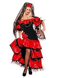 Carmen die Flamencotänzerin Kostüm