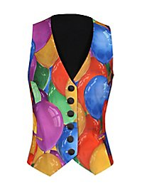 Carnival vest for ladies balloon